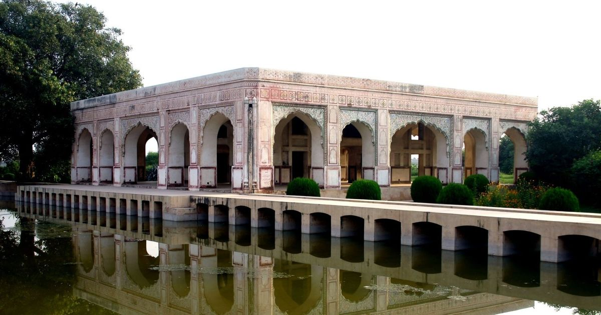 The Ravi river has run dry in Lahore. But this monument stands as a reminder of its Mughal past