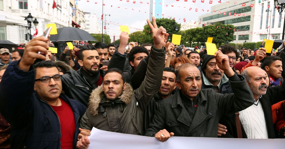 Seven years after the Arab Spring, economic despair has driven Tunisia to knife's edge once again