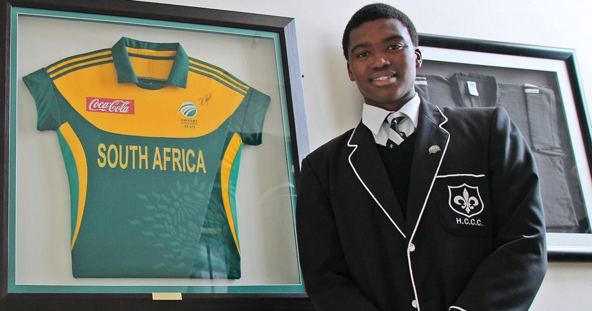 The story of Lungi Ngidi, from high school scholarship to South Africa's Test star