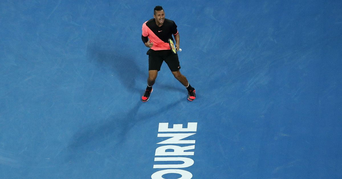 New year, new avatar: Nick Kyrgios is showing signs he is ready to dedicate himself to winning