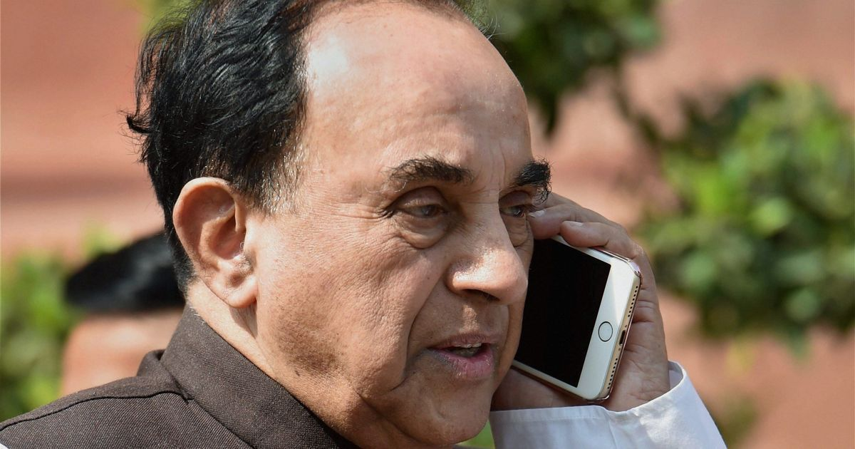 Subramanian Swamy says I-T department imposed Rs 414 crore fine on firm in National Herald case