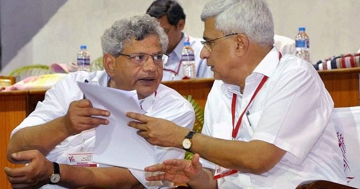 Sitaram Yechury offers to resign after CPI(M) body rejects proposal on alliance with Congress