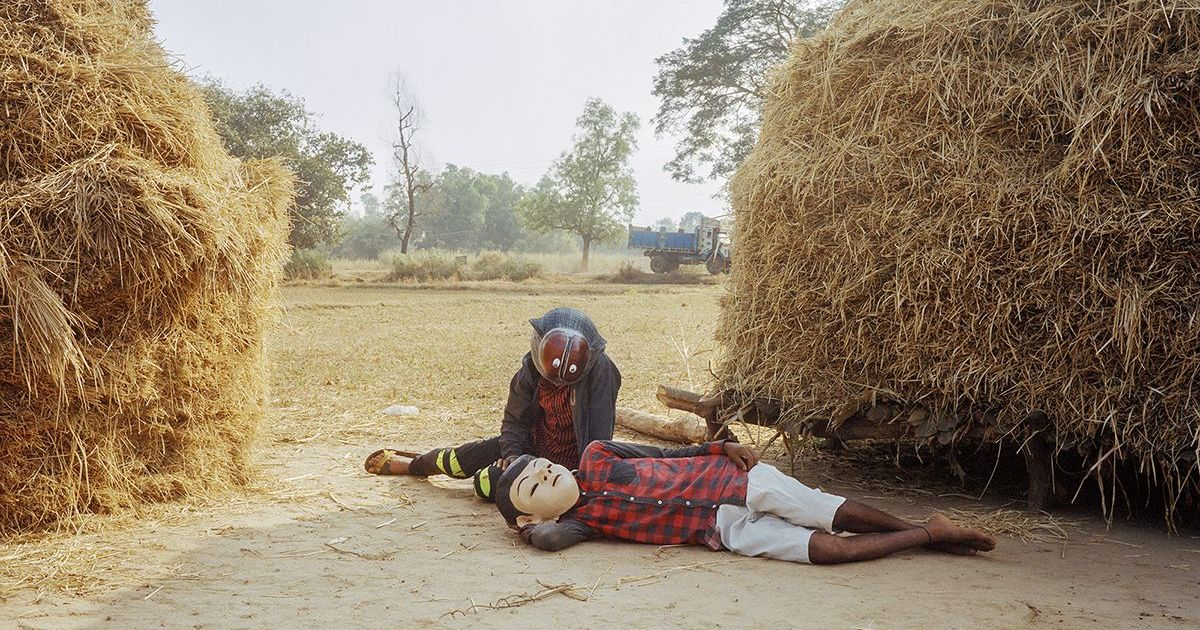 With masks and some alchemy, photographer Gauri Gill tells real and fantastic stories in Maharashtra