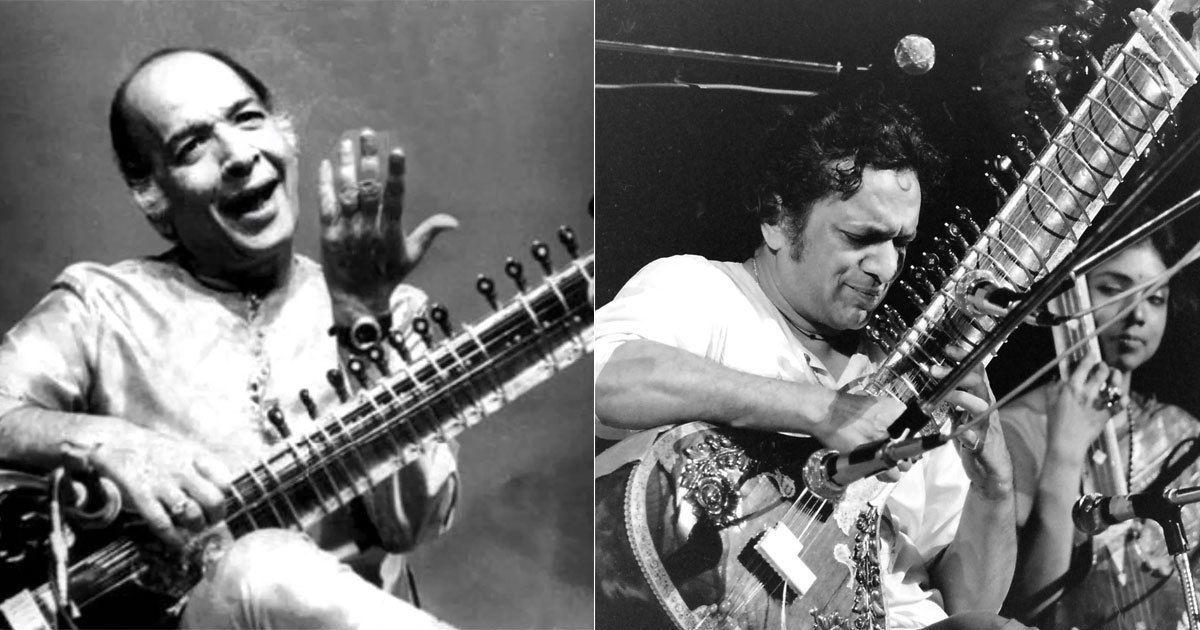 Listen: Vilayat Khan and Ravi Shankar present their interpretations of raag Bilawal