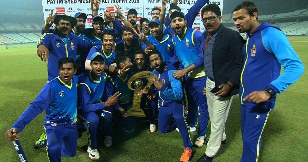 Syed Mushtaq Ali Trophy: Delhi demolish Rajasthan by 41 runs to win title