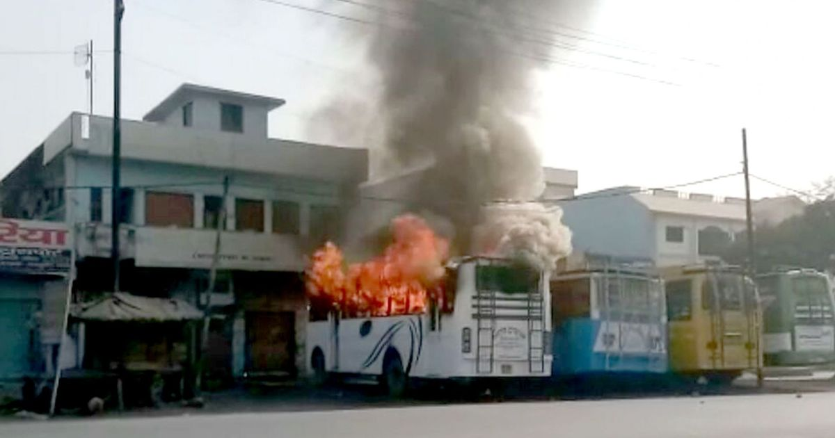 The big news: Mobs in UP's Kasganj torch shops, buses, 49 arrested, and nine other top stories