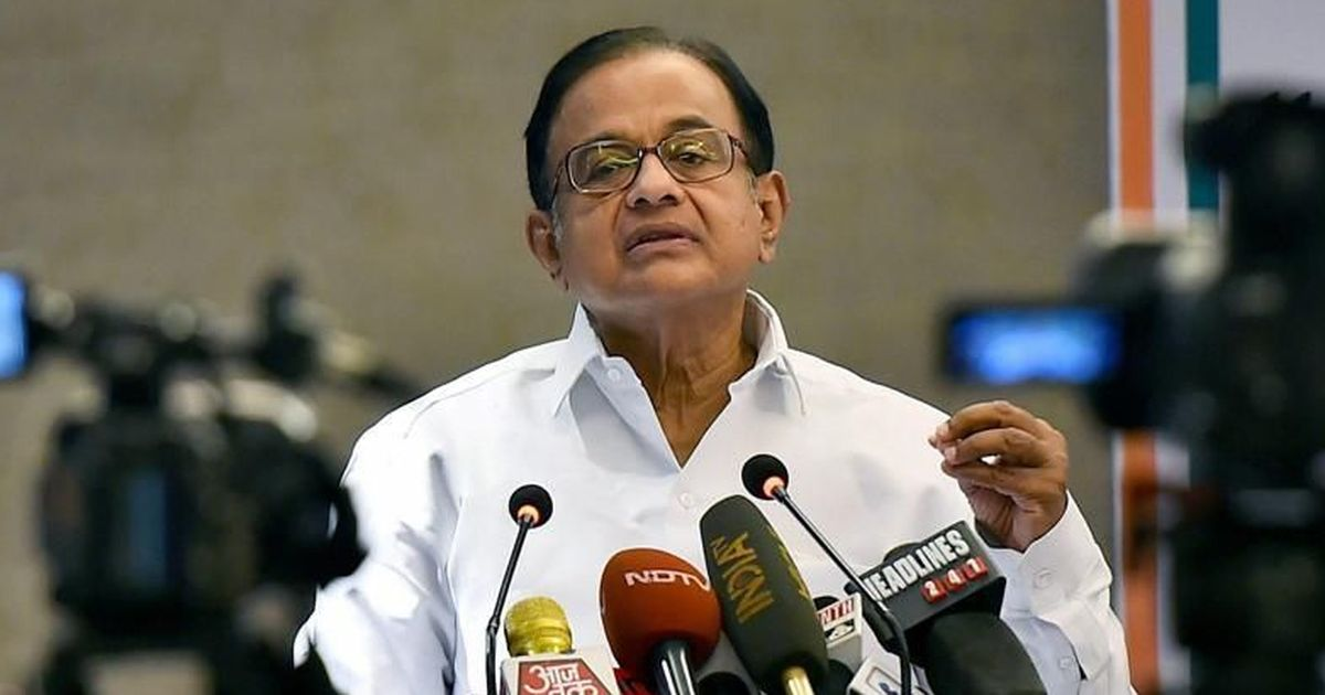 'If selling pakodas is a job, so is begging': P Chidambaram's jibe sparks Twitter war with BJP