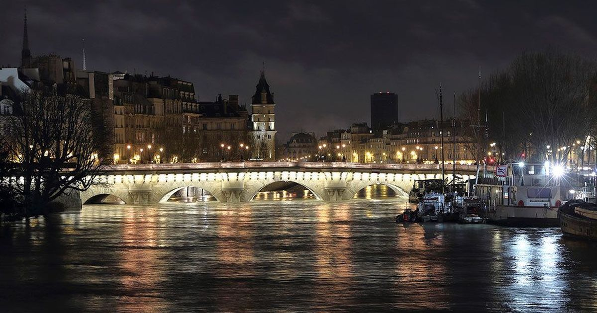 In photos: Overflowing Seine river forces roads and stations to close in Paris