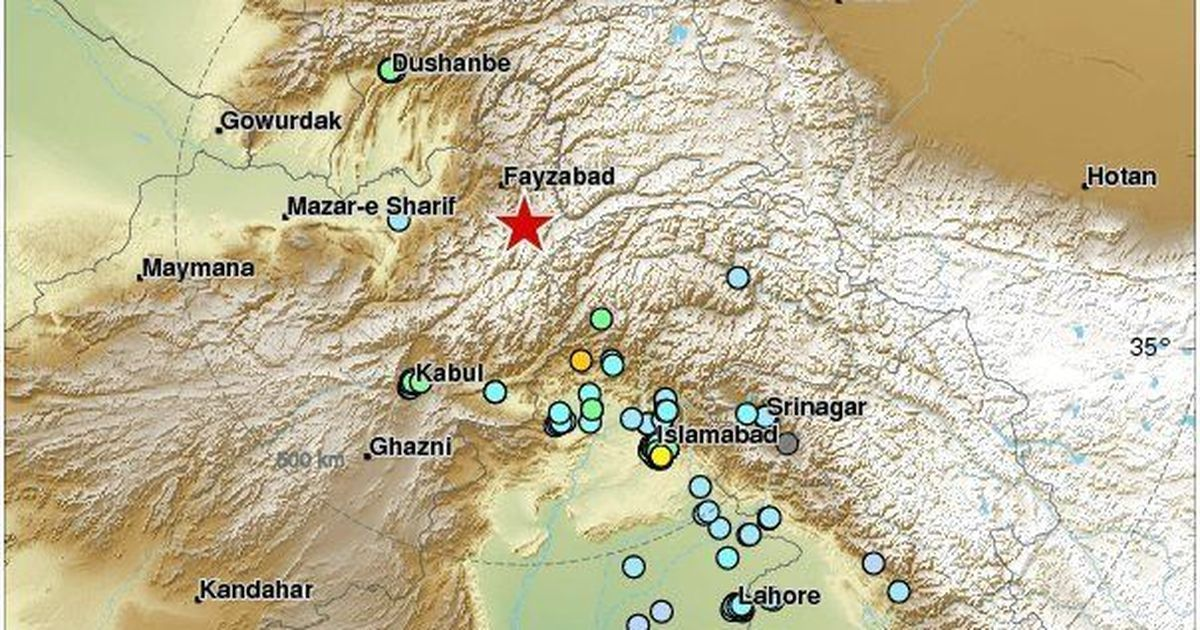 Earthquake of magnitude 6.1 strikes Afghanistan, tremors felt in North India