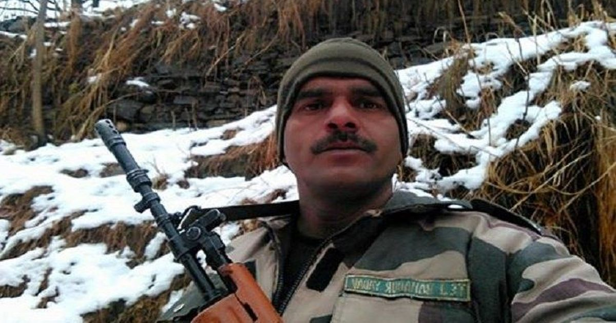 BSF jawan who complained about poor quality of food claims his colleagues uploaded video on Facebook
