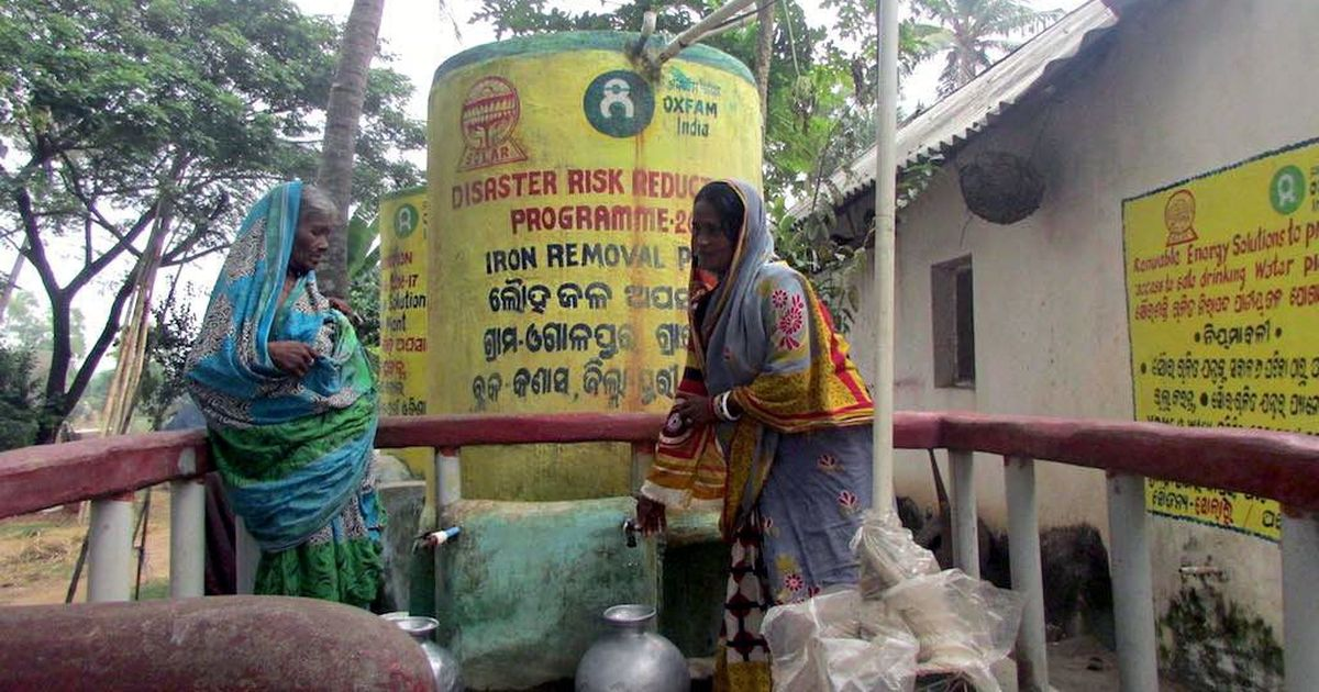 Low-cost, low-maintenance solutions helped an Odisha village get clean drinking water