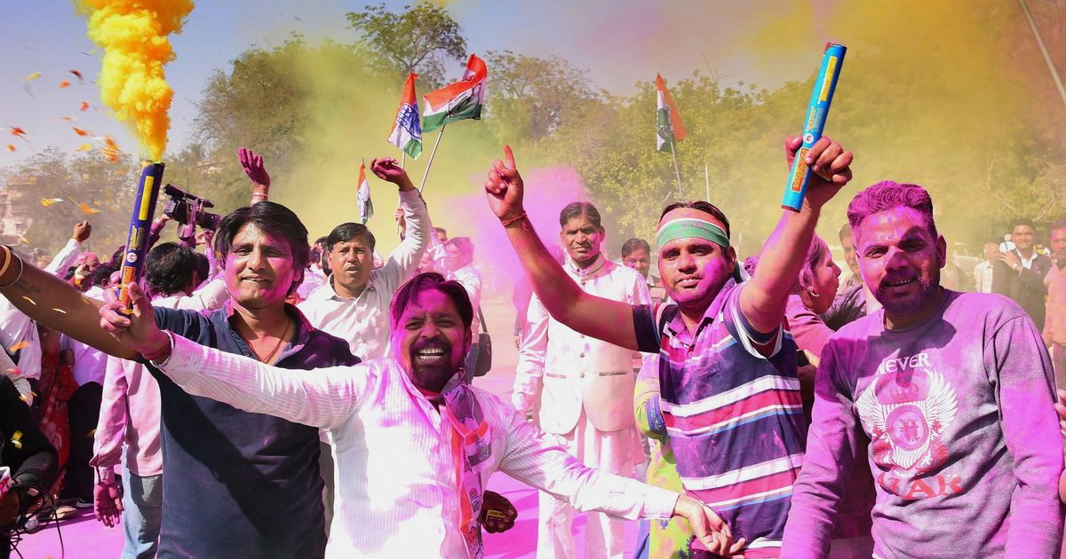 Congress trounces BJP in Rajasthan bye-elections, TMC wins Naopara and Uluberia in West Bengal