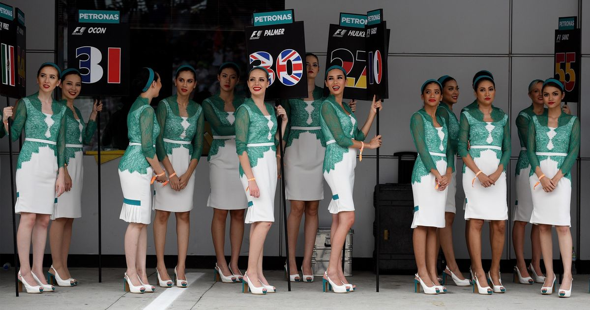 Formula One Does Away With Grid Girls Receives Mixed Response On Twitter