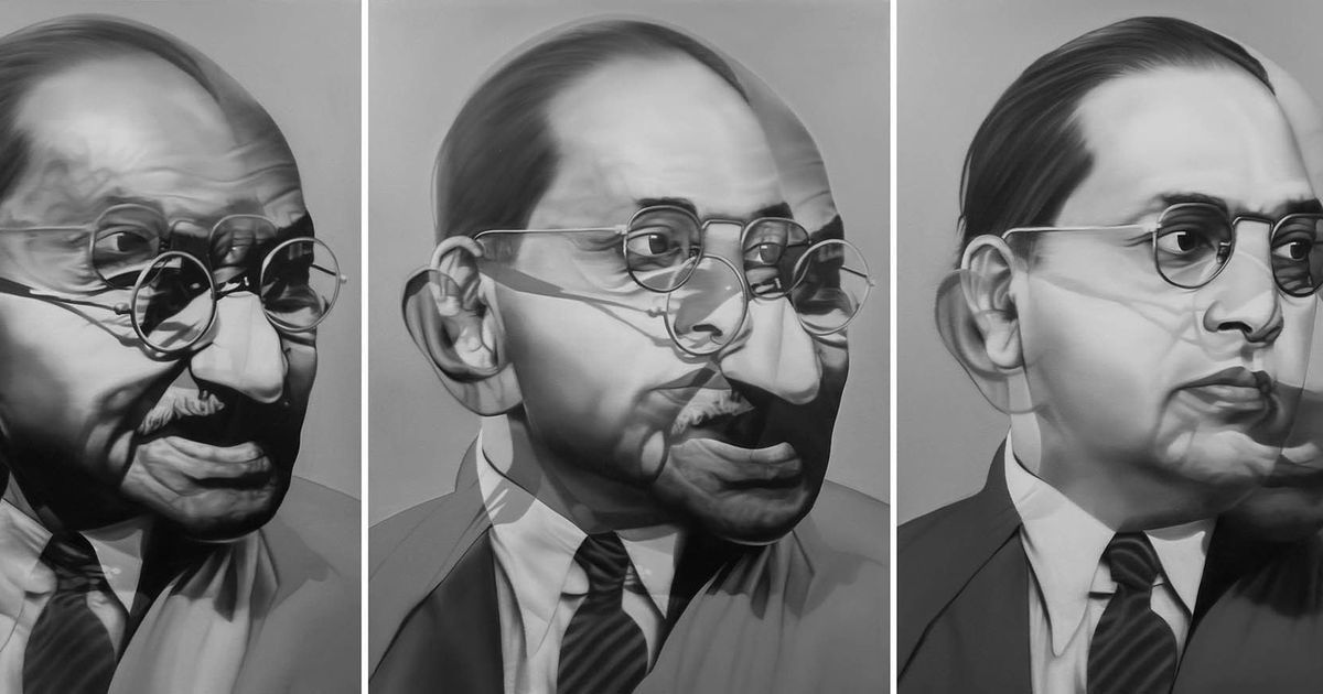 In artist Riyas Komu's new work, you can see how far India has drifted from its founding ideals