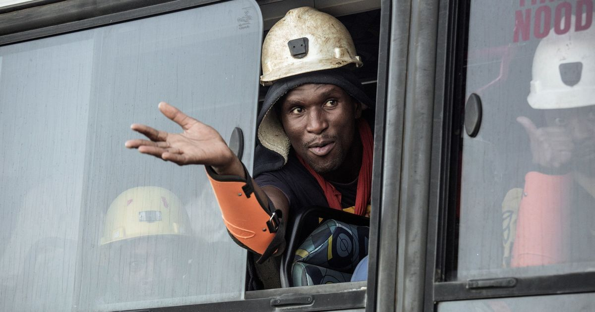 All 955 workers trapped in South African mine rescued after 24 hours