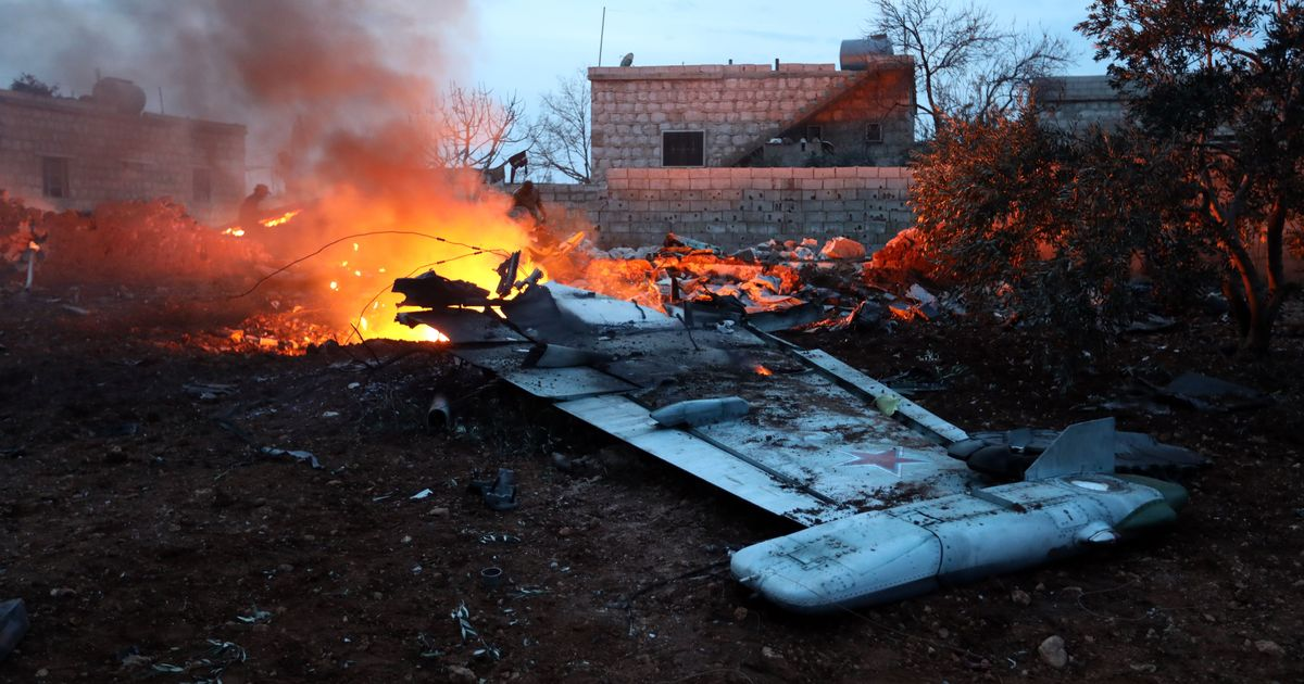Russia orders its warplanes to fly higher after Syrian rebels shoot down aircraft