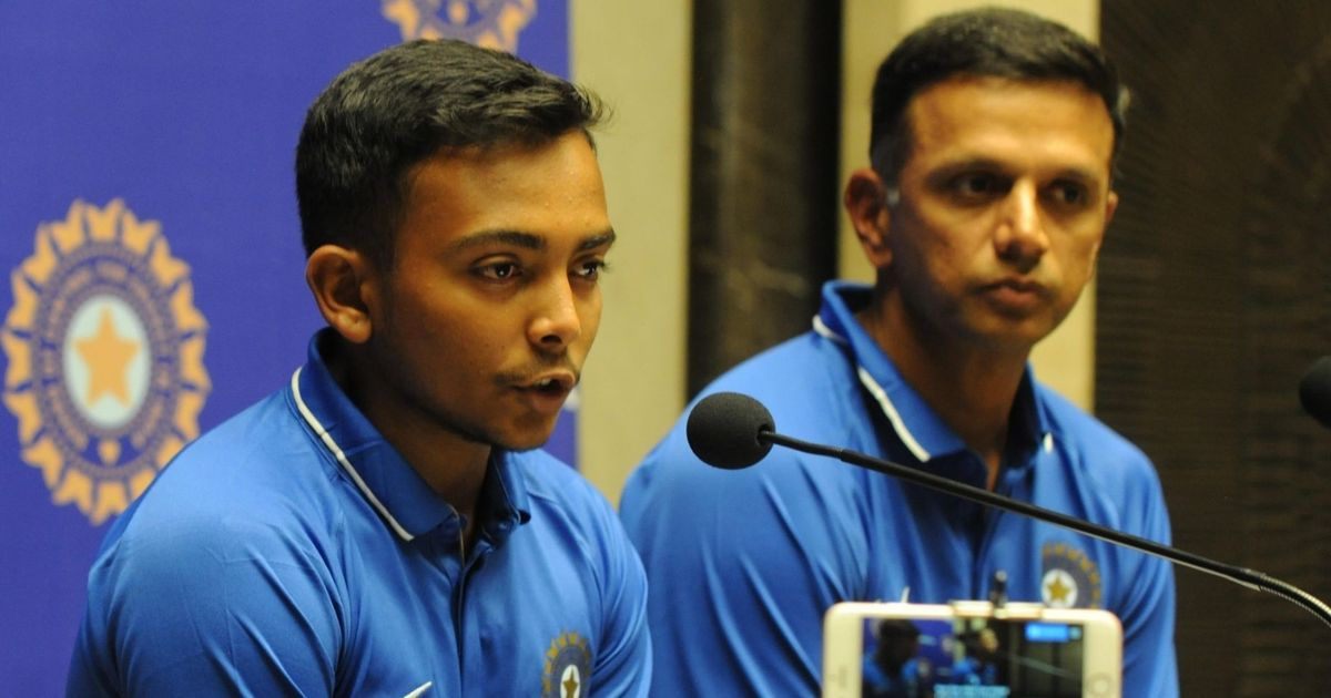 'Hard work starts from here': Dravid wants champion U-19 wards to not lose focus on India dream