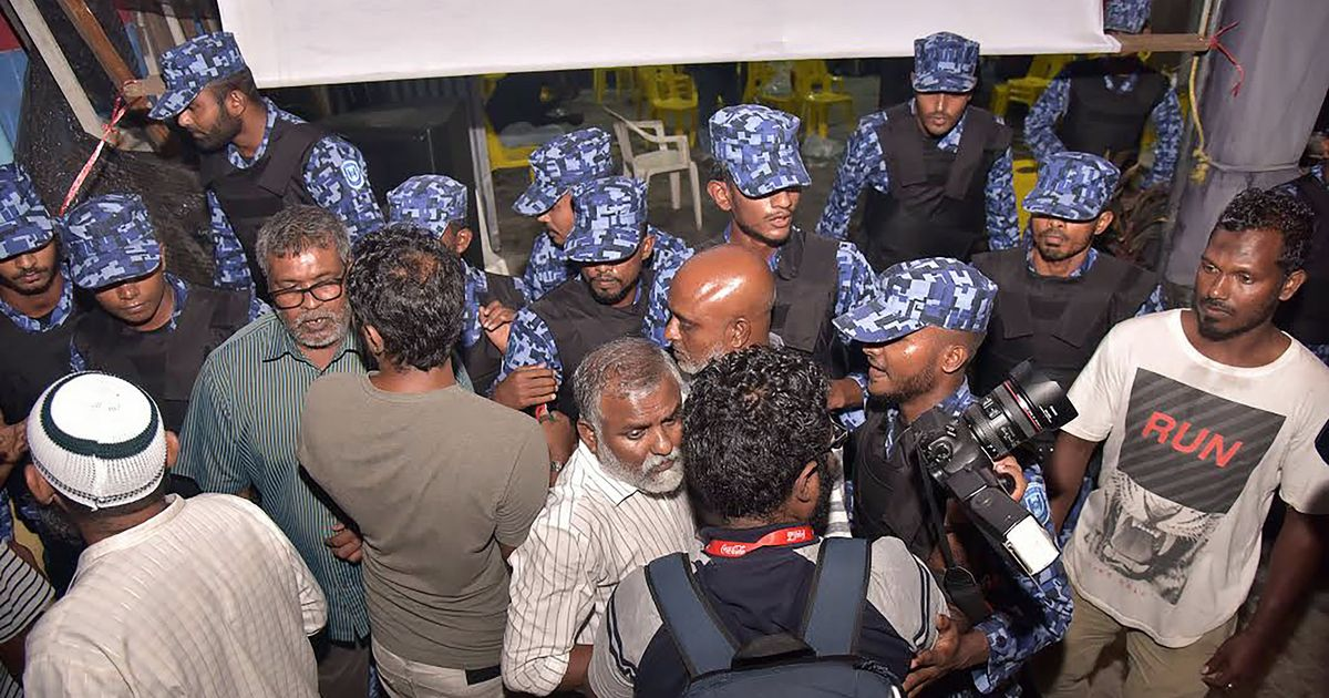 Maldives is staring at regime change again, six years after coup ousted Mohamed Nasheed as president