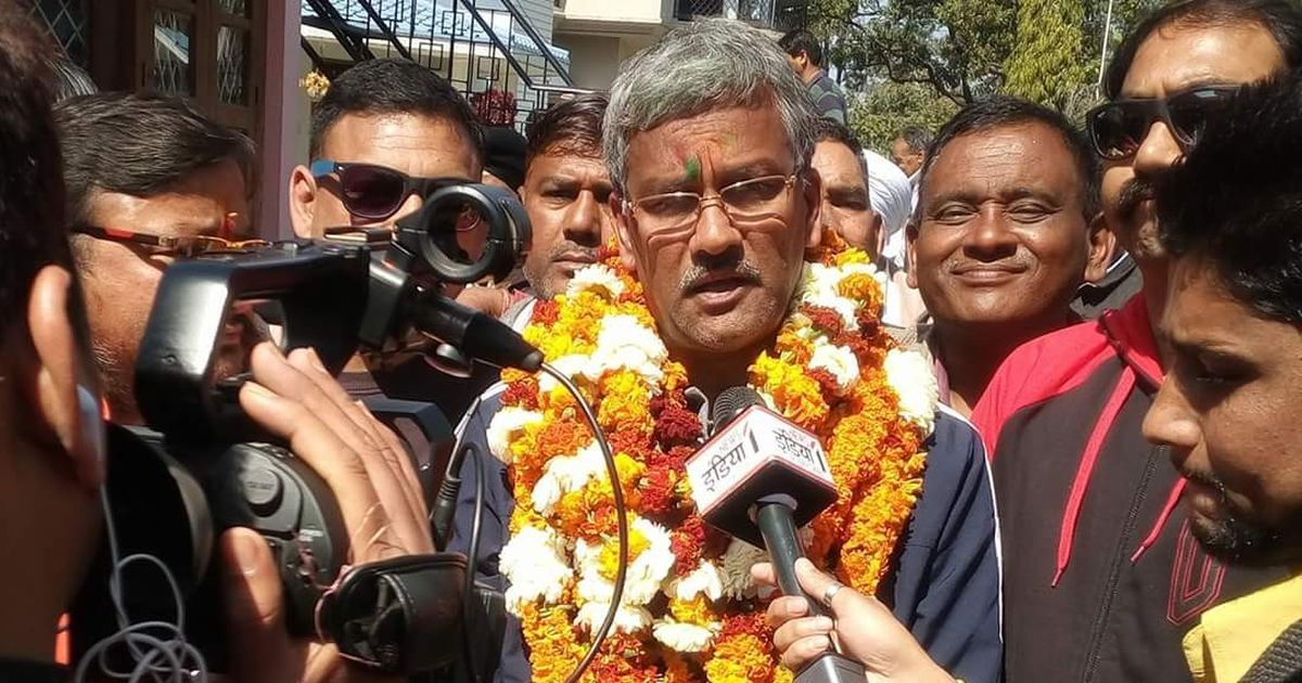 Uttarakhand CM's office has spent Rs 68.59 lakh on tea, refreshments since March 2017: RTI