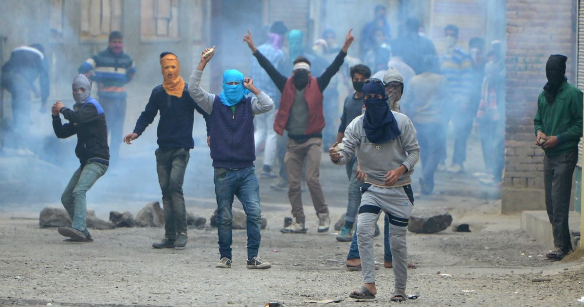 Nearly 4,800 stone-pelting incidents reported in Jammu and Kashmir from 2015 to 2017: Home Ministry