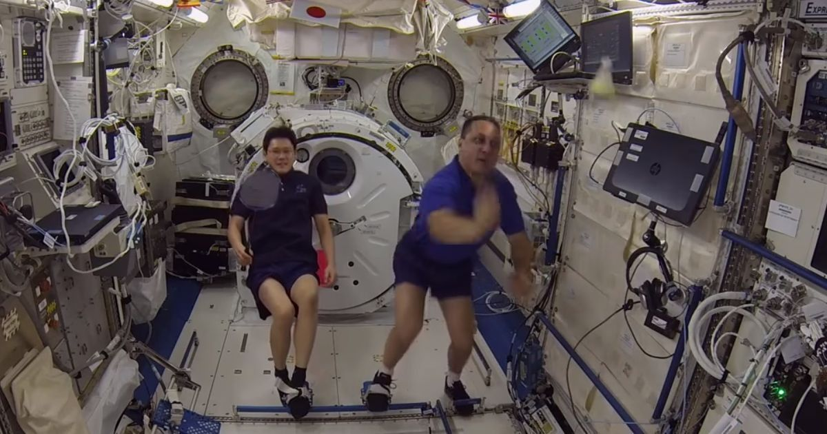Watch: Astronauts played the first ever sport in space – badminton