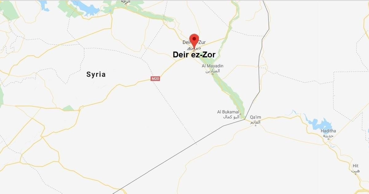 Syria: US military says it killed 100 pro-regime soldiers in airstrikes in Deir ez-Zor province