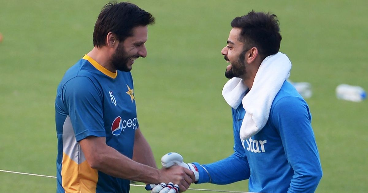 My relationship with Kohli is not dictated by Indo-Pak political situation, says Afridi
