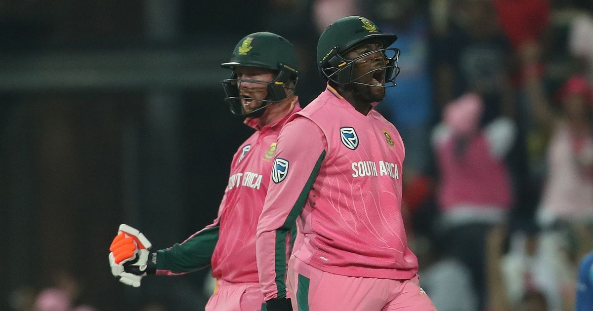 Klaasen's late flourish helps South Africa pull off thrilling win in Jo'burg, keep series alive