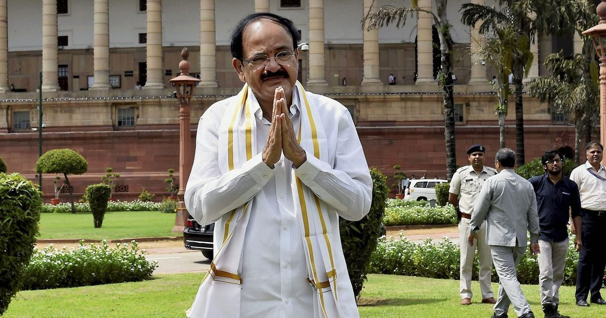 We cannot have talks with 'countries that train guns at India', says Vice President Venkaiah Naidu
