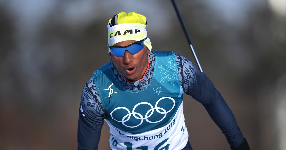 Cross-country skier Jagdish Singh finishes 103rd out of 119 in first Winter Olympics