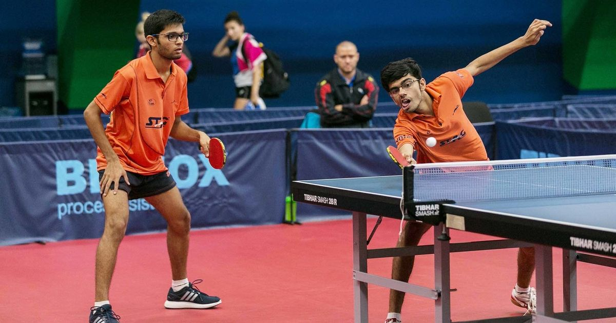 Czech Junior & Cadet Open: India paddlers Manav Thakkar and Manush Shah win silver in doubles