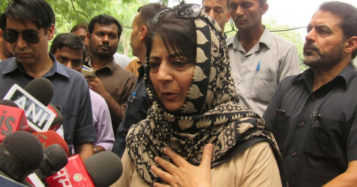 'I am appalled by protests demanding release of Kathua rape and murder accused': Mehbooba Mufti
