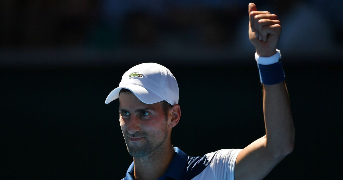 Djokovic invites his lookalike Winter Olympic Champion for a get-together at French Open