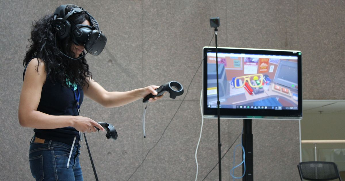 Lab notes: Augmented video games can help in stroke recovery