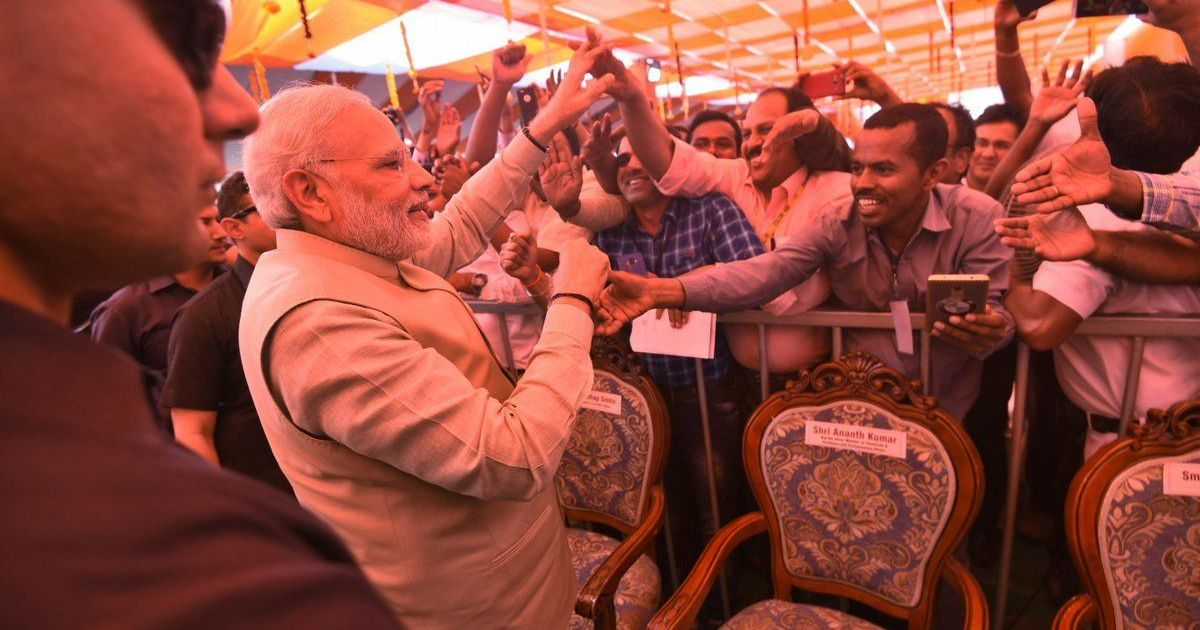 Karnataka needs BJP government that works with mission, not Congress that works for commission: Modi