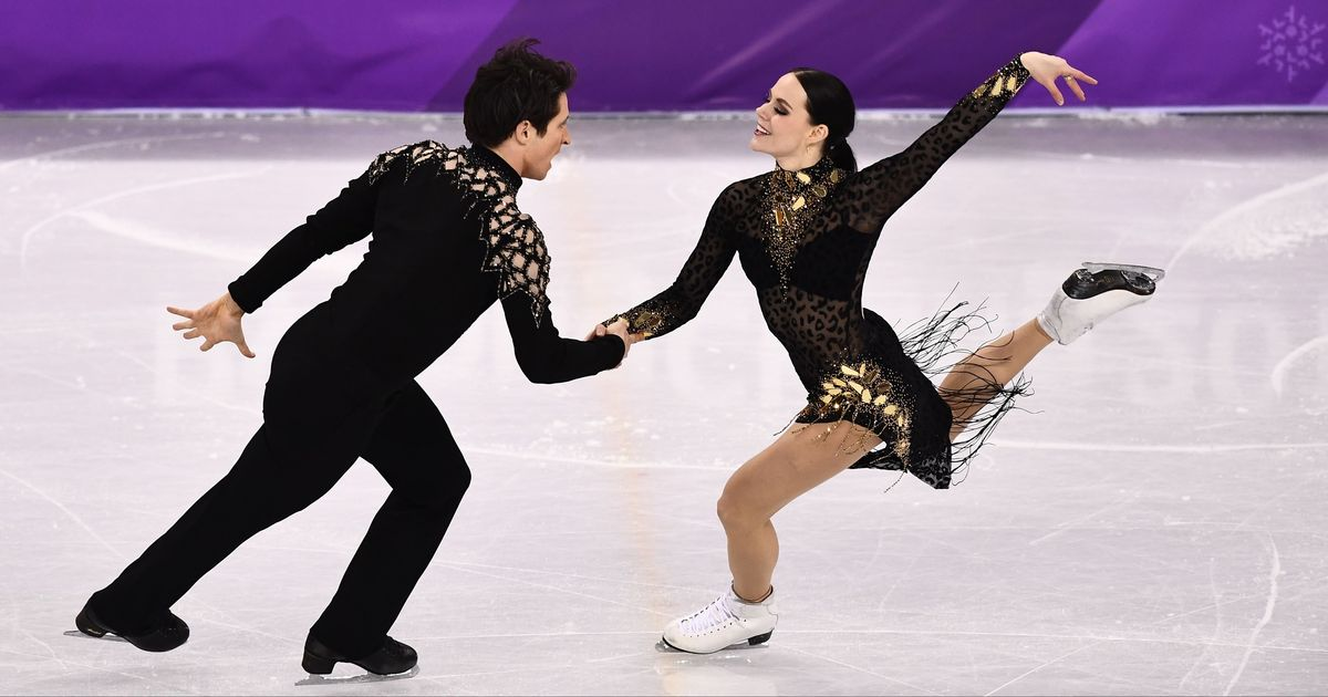 Tessa Virtue & Scott Moir claim record-breaking gold to become most decorated Olympic skaters