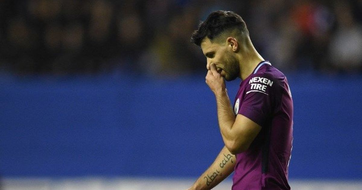 No action against Aguero over altercation with a Wigan fan after FA Cup loss