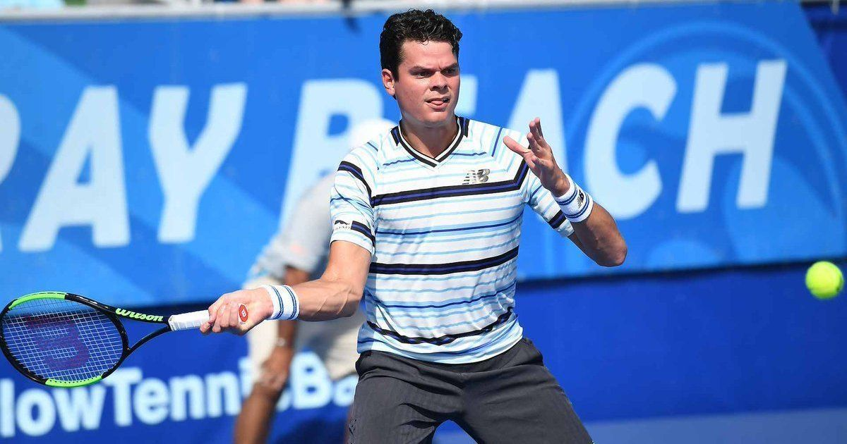 Raonic trounces Daniel in Delray Beach Open to win his first match of 2018
