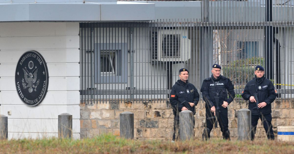 Montenegro: Attacker throws explosive device at US embassy, then kills himself
