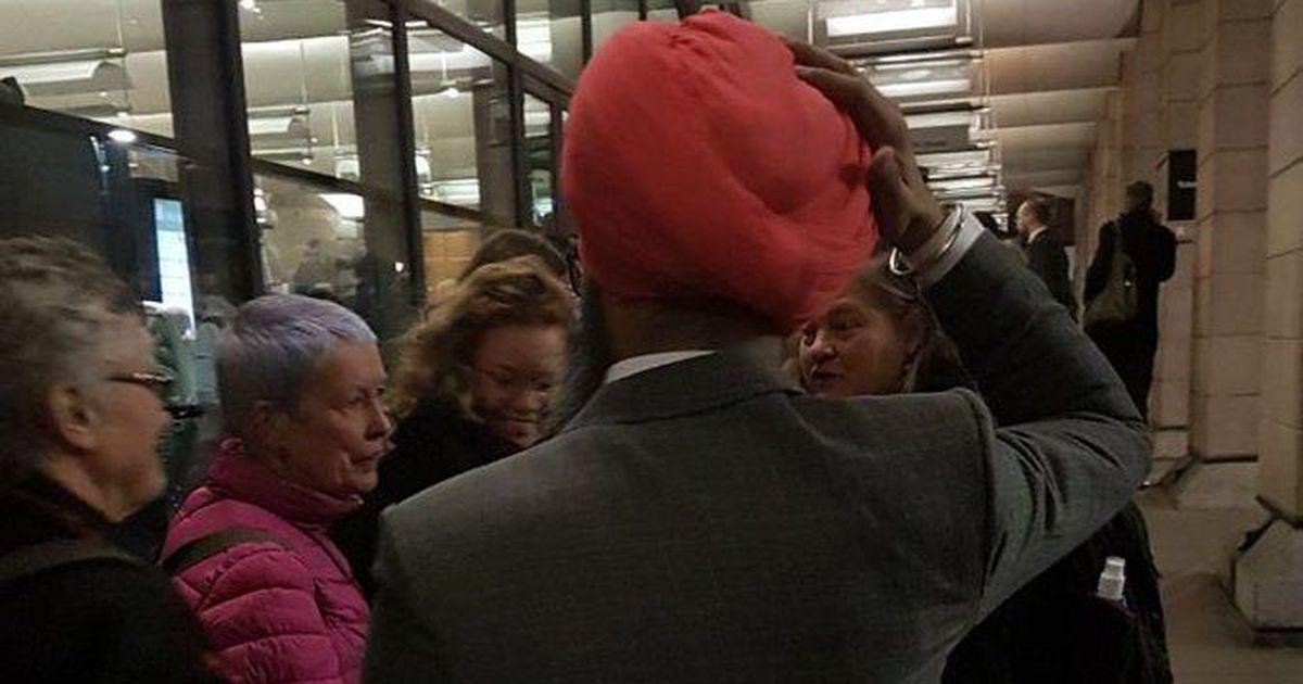 Sikh man assaulted outside UK Parliament