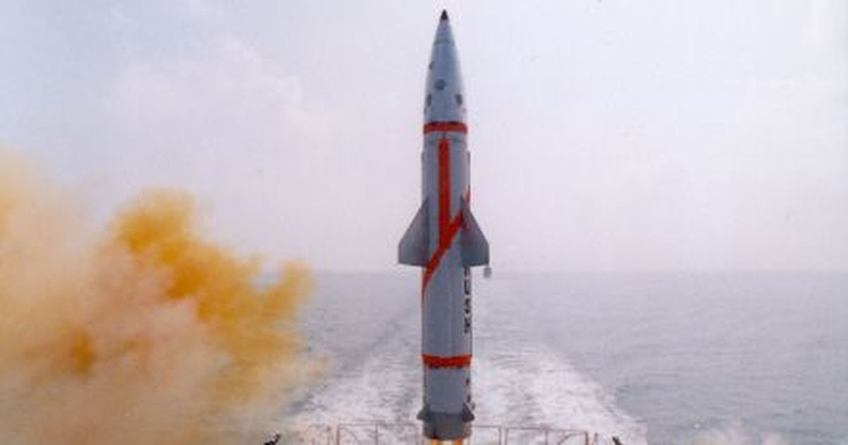 India test-fires nuclear-capable Dhanush missile