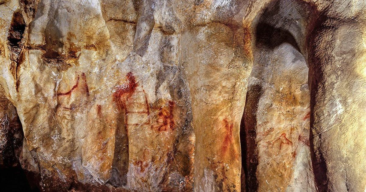 When did we first become 'human'? Neanderthal cave art discovered in Spain may hold the answer
