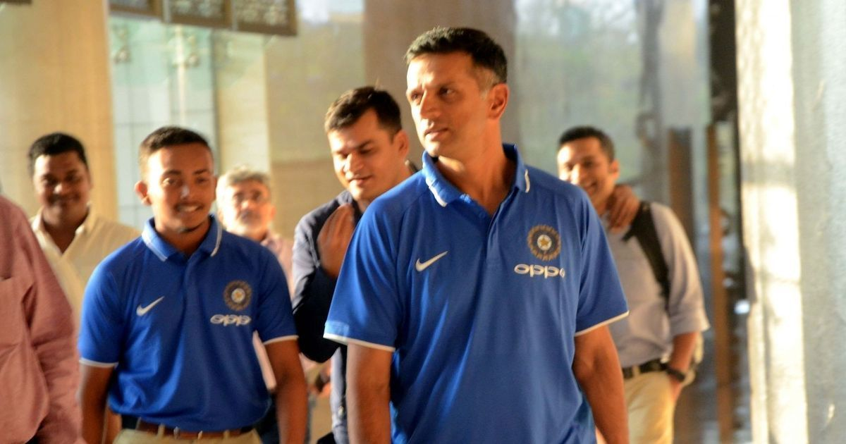 Dravid takes a pay cut to ensure equal reward for support staff of U-19 World Cup winning team