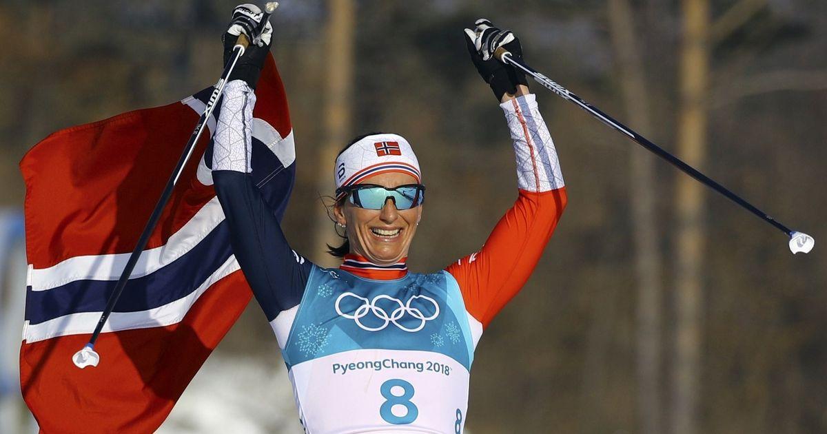 Record-breaker Marit Bjoergen puts Norway on top of Winter Olympics final tally