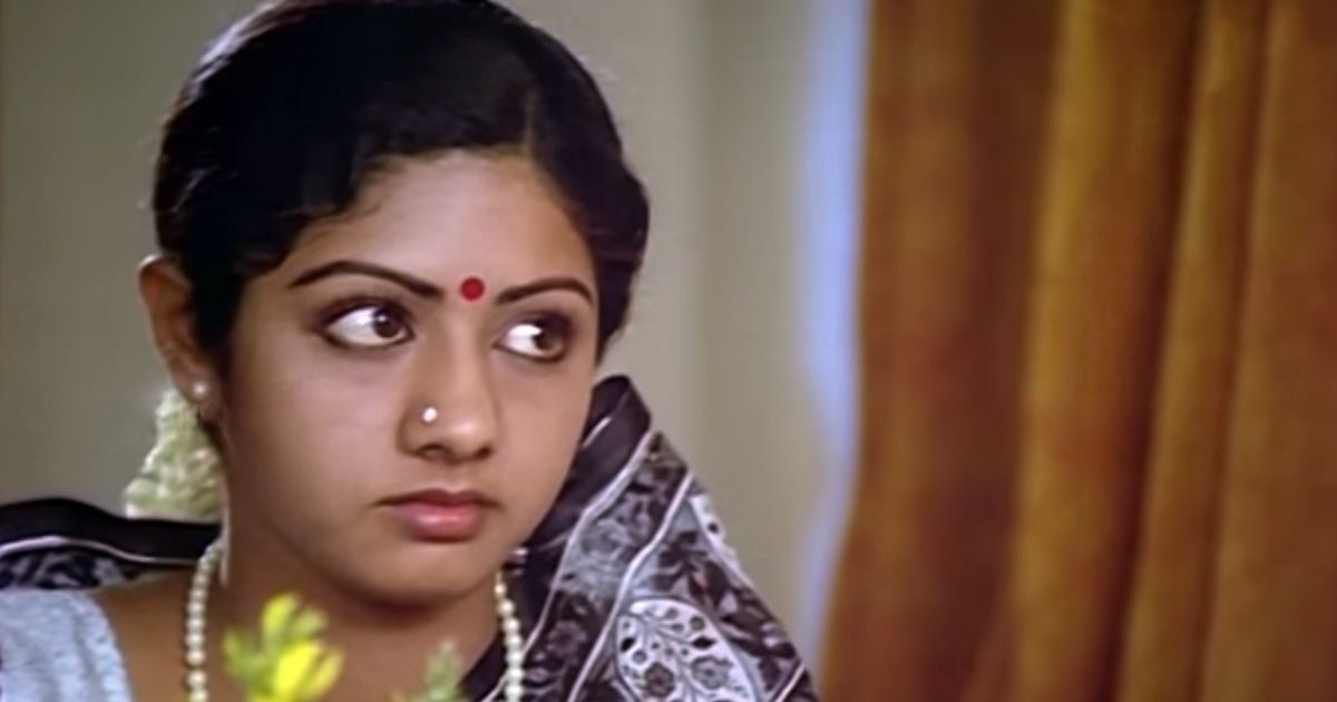 Before Rajinikanth and Kamal Haasan, Sridevi was the undisputed superstar of Tamil cinema