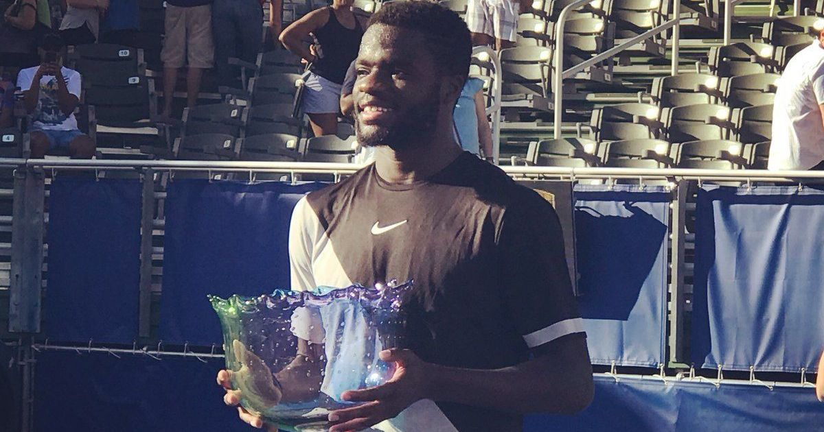 Frances Tiafoe becomes youngest American since Andy Roddick to lift an ATP title