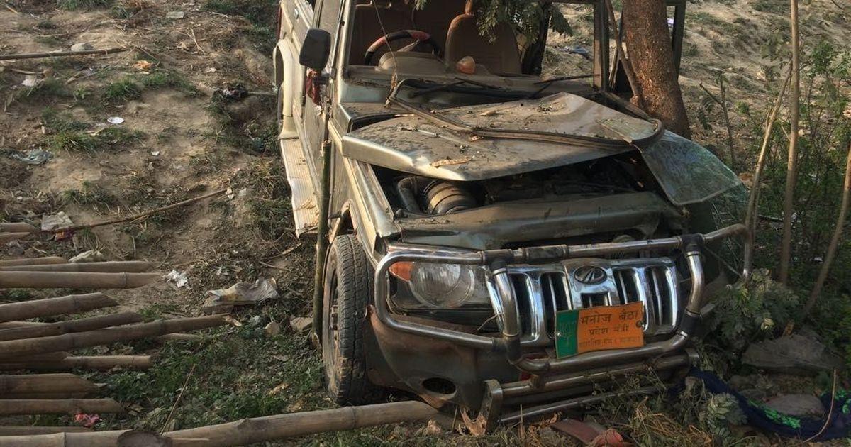 Bihar: Suspended BJP leader Manoj Baitha, accused in hit-and-run case, surrenders