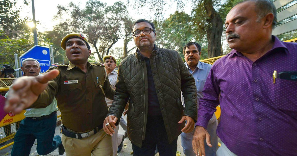 Delhi court sends Karti Chidambaram to CBI custody for a day