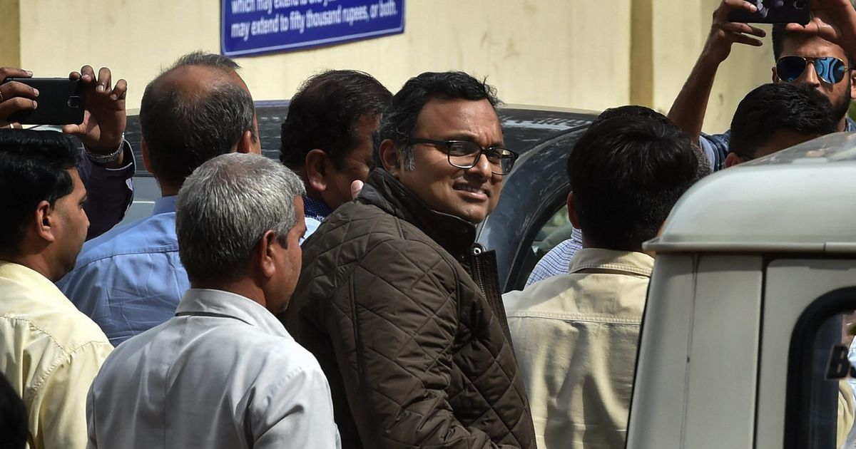 INX Media case: Delhi court sends Karti Chidambaram to CBI custody till March 6