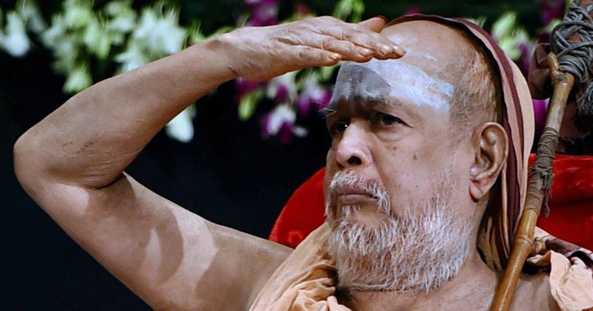 Jayendra Saraswathi redefined Kanchi Mutt's role – but did not earn the stature of his predecessor